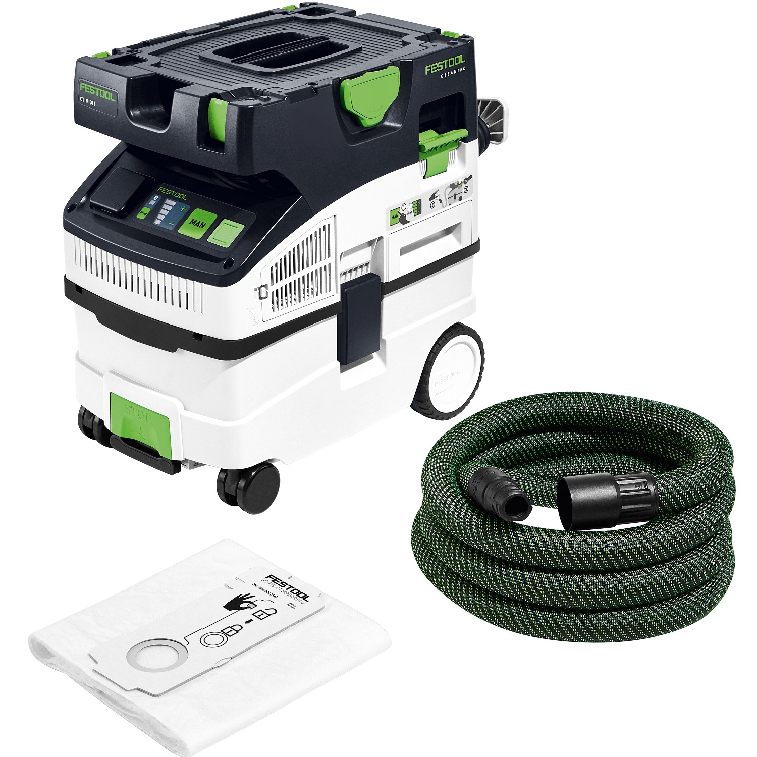 Festool CT MIDI I HEPA Bluetooth Dust Extractor