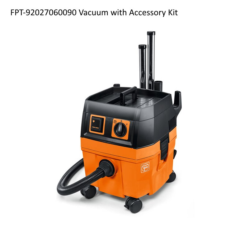 Fein Turbo I Dust Extractor (2014-up) - Vacuum with Accessory Kit