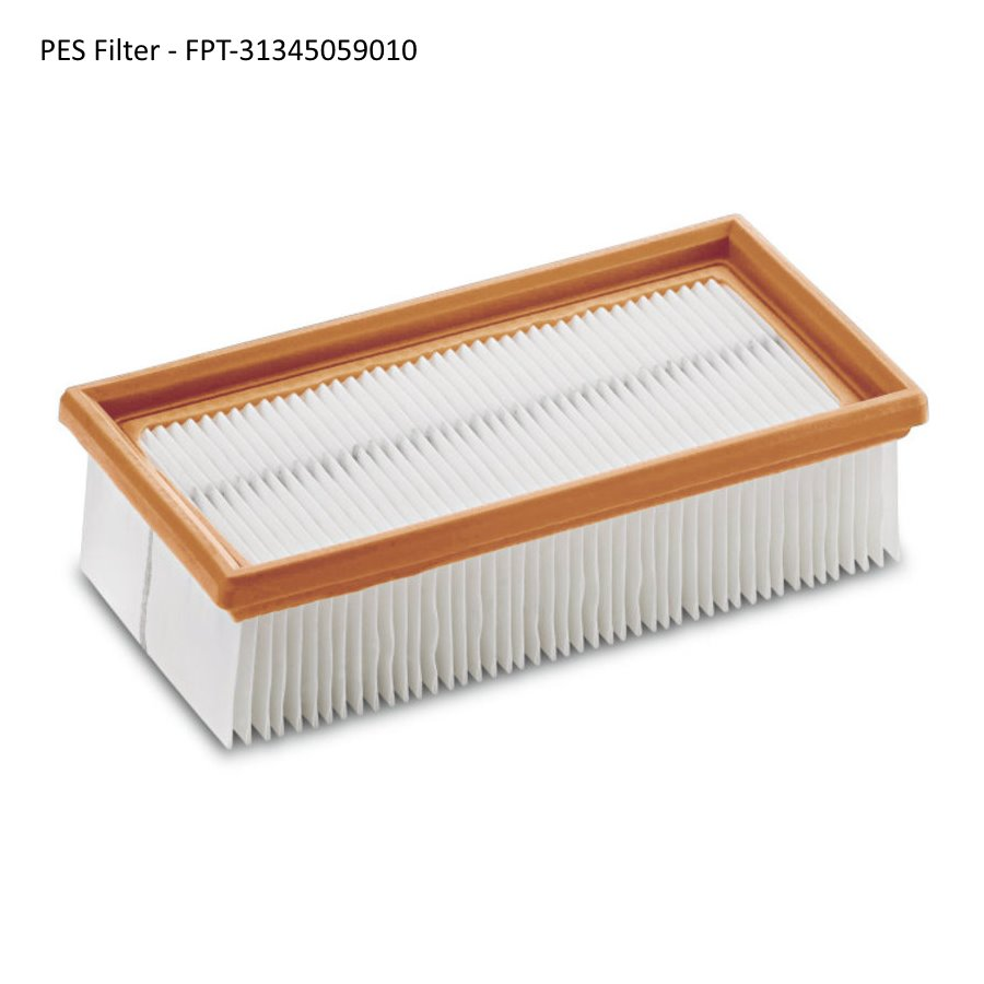 Fein Turbo I & II Vacuum Flat Filters (2014-up) - PES Filter