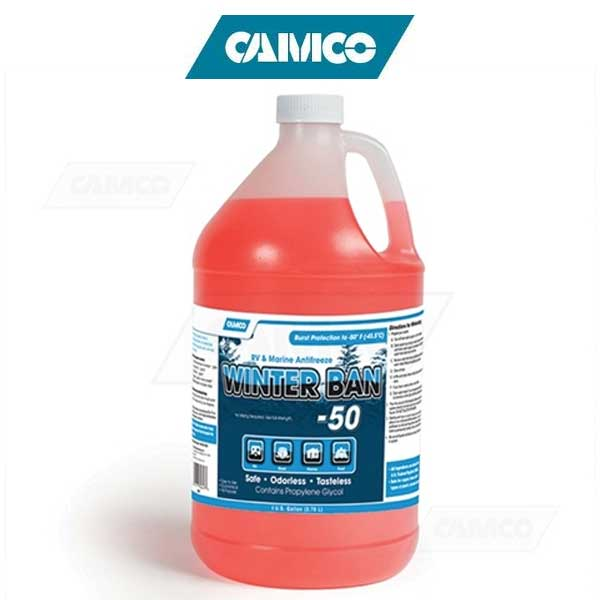 Camco Winter Ban -50 Antifreeze for Potable Water Systems
