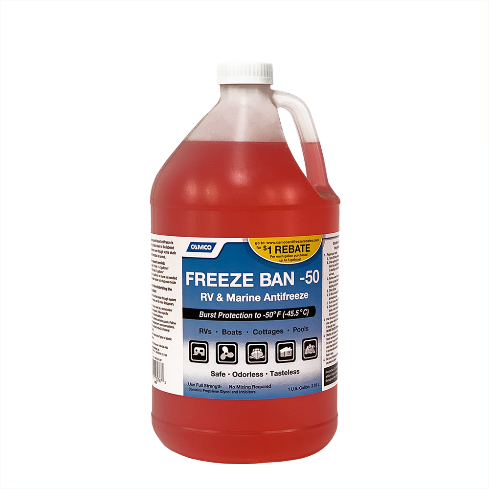 Camco Freeze Ban -50 Antifreeze