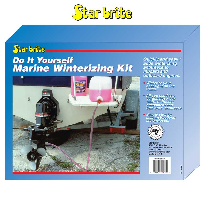 Star Brite Do-It-Yourself Winterizing and Engine Flush Kit