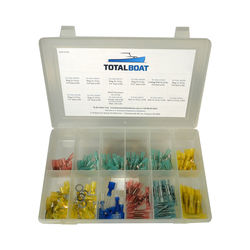 TotalBoat Marine Heat Shrink Connectors 140-Piece Kit
