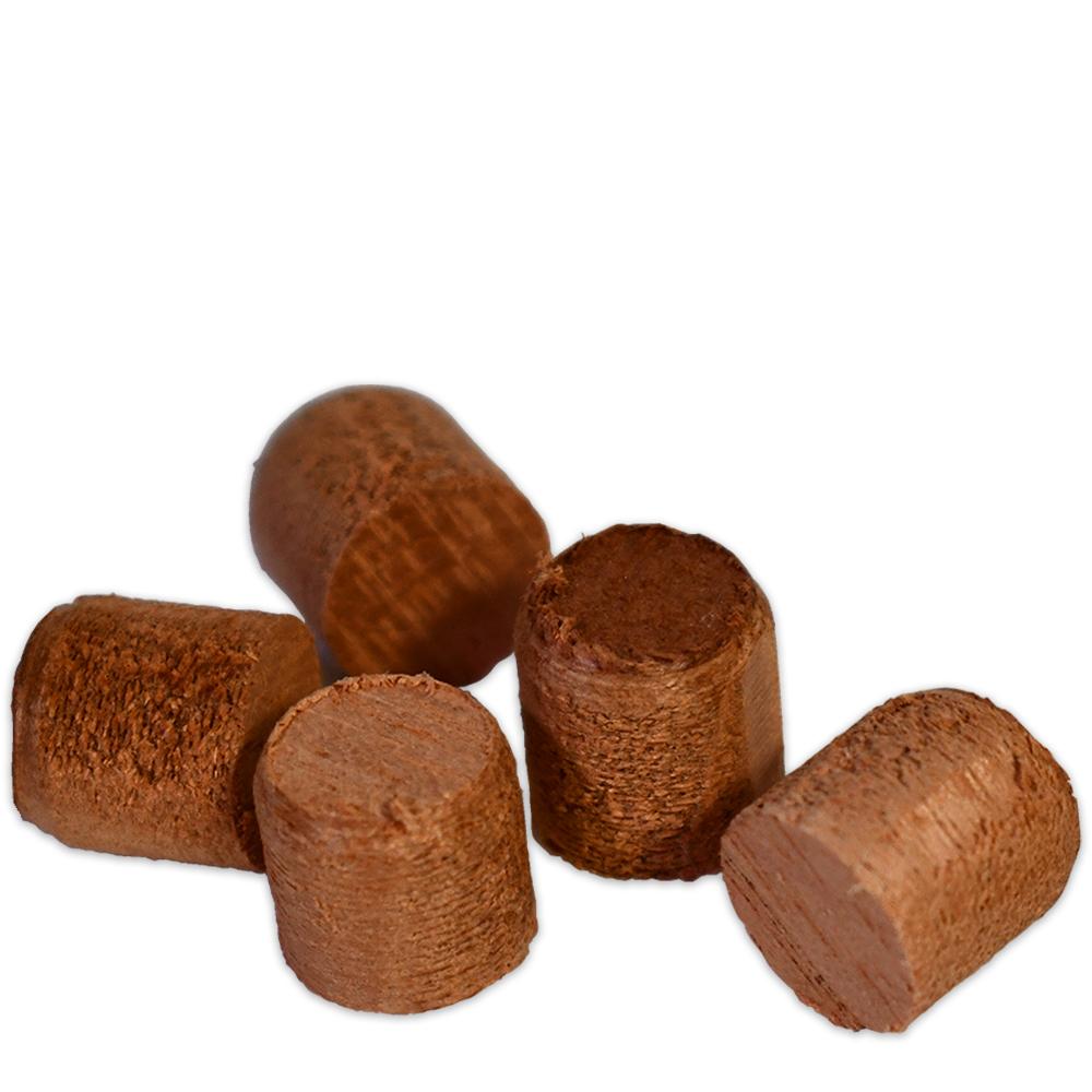 SA Mahogany Wood Bungs / Plugs