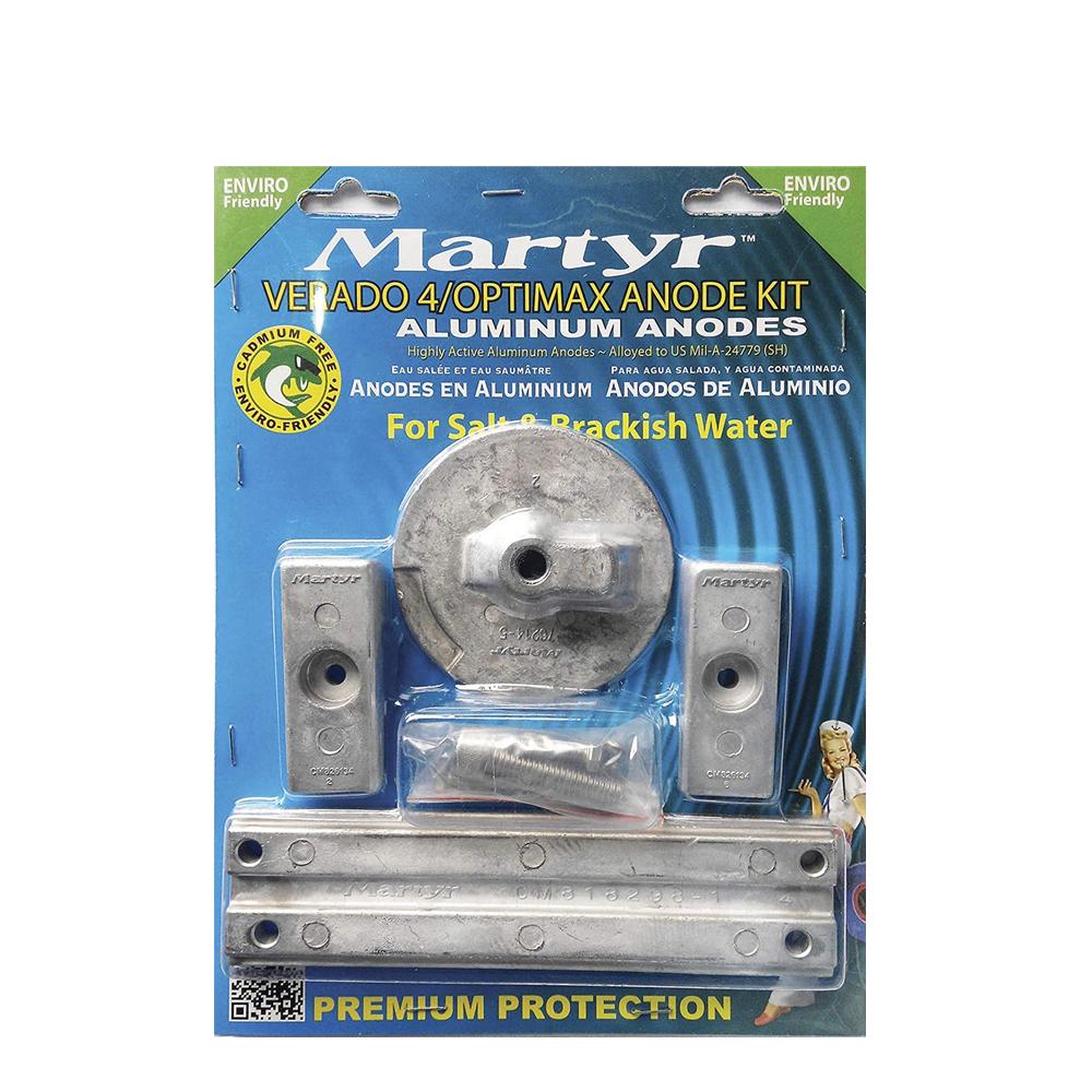 Martyr Mercury Verado Aluminum Anode Kits