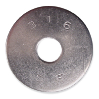 316 S/S Fender Washers