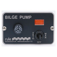 Rule 3-Way Panel Lighted Bilge Pump Switches