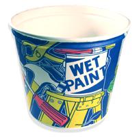 Paper Paint Pots