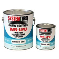 System Three WR-LPU Polyurethane Topcoat