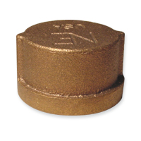 Cap Fittings - Bronze, NPT