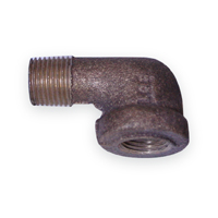 90 Degree Street Elbow Fittings - Bronze, NPT