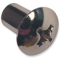 Barrel Nuts - Chrome Plated Brass