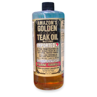 Amazon Golden Teak Oil