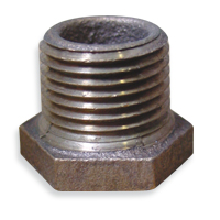 Hex Bushings - Bronze, NPT