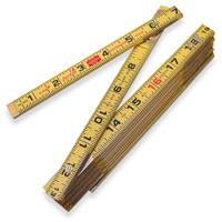 Folding Wood Rulers