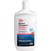 3M Marine Fiberglass Restorer and Wax