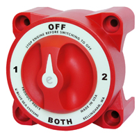 Blue Sea Systems 4-Way Marine Battery Switch