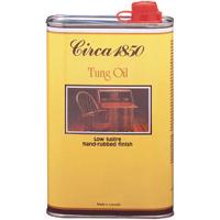 Circa 1850 Tung Oil