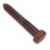 1/4 inch bronze lag screws