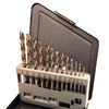 13 Piece Drill Sets - Regular & Split Point, regular high speed steel drill bit set, split point drill bit set