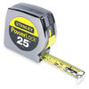 stanley powerlock tape measure, measuring rules, mylar