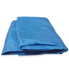 Blue Polyethylene Utility Tarp Boat Covers