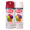 krylon spray paint, hammerite spray paint.