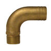 Groco Pipe-to-Hose 90 Degree - Full Flow - Bronze, NPT