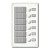 Blue Sea Systems 6-Position Waterproof Circuit Breaker Panel