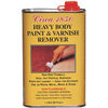 heavy paint and varnisher remover, shellac and lacquer stripper, finish removal