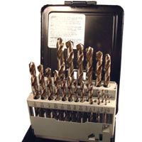 21 Piece Drill Sets - Regular & Split Point drill bit kits