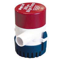 Rule 25D 500 gph submersible round bilge pump