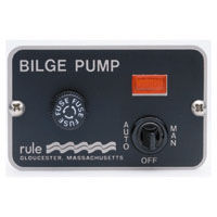 rule 3 way panel lighted bilge pump switches rh jamestowndistributors com