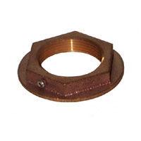 Groco Flanged Thru-Hull Nuts - Bronze, NPS