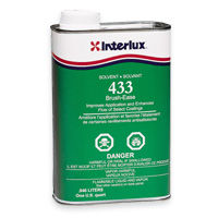 Interlux Brush Ease, Interlux 433 solvent and thinner
