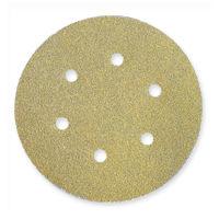 Norton - Gold 290 Discs - Hook and Loop - 6 inch x 6 Holes