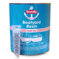 Bondo Boatyard Resin - polyester