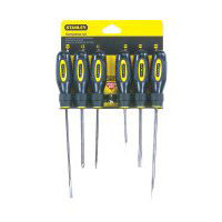 Stanley fluted screwdriver sets, 6 Piece Stanley Screwdriver Set