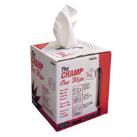 shop rags, champ one wipes