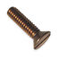 1/4-20 Bronze Machine Screws FH