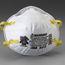 3M 8210 N95 NIOSH disposable particulate respirators
