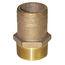 Groco Pipe-to-Hose Straight - Full Flow - Bronze, NPT