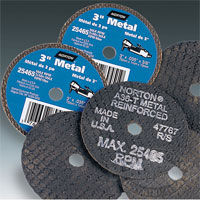 Norton Aluminum Oxide Small Diameter Metal Cut-off Blades