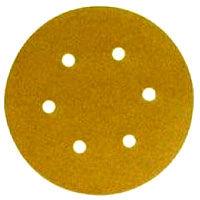 3M - Hookit Gold Dustless Sanding Discs - 6 inch x 6 Holes