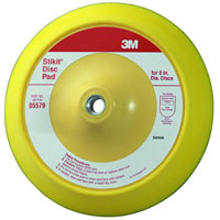 3M Stikit Firm Backup Disc Pads 8 Inch