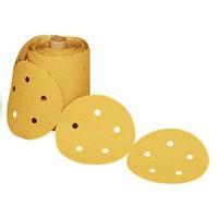 3M Stikit Gold 236U Dust Free Disc Rolls 5 Inch x 5 Hole