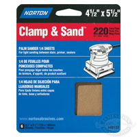 Norton MultiSand 4-1/2 in x 5-1/2 in Sheets