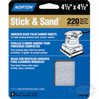 Norton MultiSand 4-1/2 in x 4-1/2 in Sheets