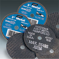 Norton Aluminum Oxide Small Diameter Metal Cut-off Blades