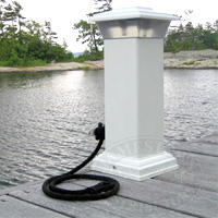 Dock Edge Solar Dock Light